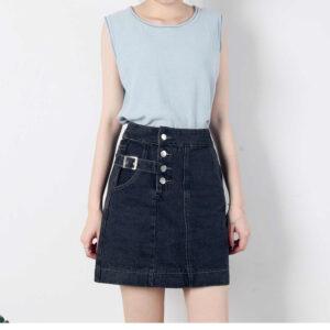 חצאיות ג'ינס