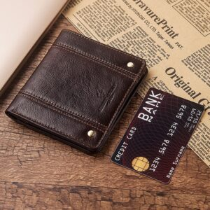 2020 Minimalist Slim Genuine Leather Wallet For Men Bifold Thin Mini Small Male Zipper Coin Purse Compact Money Bag Hot Sale