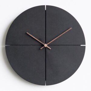 Wall Clock Vintage Nordic Minimalist Creative Wooden Wall Clock Personality Household Watches Silent Wall Clocks Home Decor