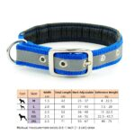 Dog-Collar-Nylon-Padded-Reflective-Collar-Pet-Adjustable-Outdoor-Comfortable-Necklace-for-Large-Dogs-Pitbull-Collier-Chien