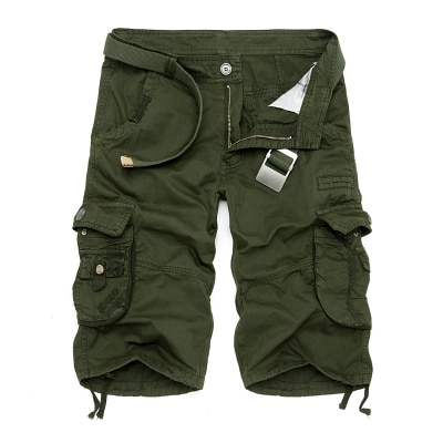 Mens Military Cargo Shorts 2020 Brand New Army Camouflage Tactical Shorts Men Cotton Loose Work Casual Short Pants Plus Size