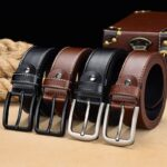 [DWTS]belt male Men belt leather belt men enuine leather strap luxury pin buckle casual Cummerbunds ceinture homme