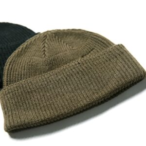WW2 USAF A-4 WATCH CAP 80% Wool WW2 Replica A4 Winter Warm Knit Thick Cap Vintage Military Outdoor Hat Skateboard Street Dance