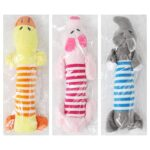 Squeak-Toys-For-Dog-Toy-Fleece-Dog-Chew-Toy-Durability-Plush-Puppy-Pet-Sound-Toy-For-Dogs-Supplies-Elephant-Duck-Pig-Plush-Toys