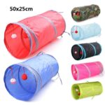 7-Color-Funny-Pet-Cat-Cave-Tunnel-Cat-Play-Rainbown-Tunnel-Brown-Foldable-2-Holes-Cat-Tunnel-Kitten-Toy-Bulk-Toys-Rabbit-Tunnel