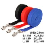 Nylon Dog Training Leashes Pet Supplies Walking Harness Collar Leader Rope For Dogs Cat 1.5M 1.8M 3M 4.5M 6M 10M
