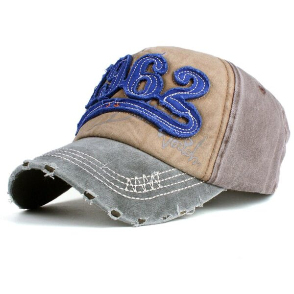 Xthree cotton Washed baseball cap retro fitted cap snapback hat for men bone women gorras casual casquette embroidery letter cap
