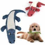 Pet-Chew-Toys-Pet-Puppy-Chew-Plush-Cartoon-Animals-Squirrel-Cotton-Bite-Toy-Crocodile-Shaped-Squeak-Toys-For-Small-Medium-Pets