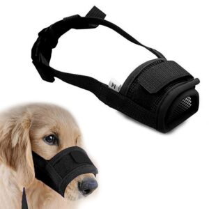 Anti Barking Dog Muzzle for Small Large Dogs Adjustable Pet Mouth Muzzles for Dogs Nylon Straps Dog Accessories 261630