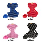Rhinestone-Mesh-Cat-Harness-And-Leash-Set-Breathable-Adjustable-Pet-Vest-Harness-For-Small-Dog-Cat-Walking-Harnesses-Leads