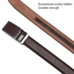 [DWTS]Belt Male Men's belt Genuine Leather Strap luxury brand Automatic Buckle Belts For Men Belts Cummerbunds cinturon hombre