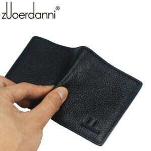 100% Genuine Leather Small Mini Ultra-thin Wallets men Compact wallet Handmade wallet Cowhide Card Holder Short Design purse New