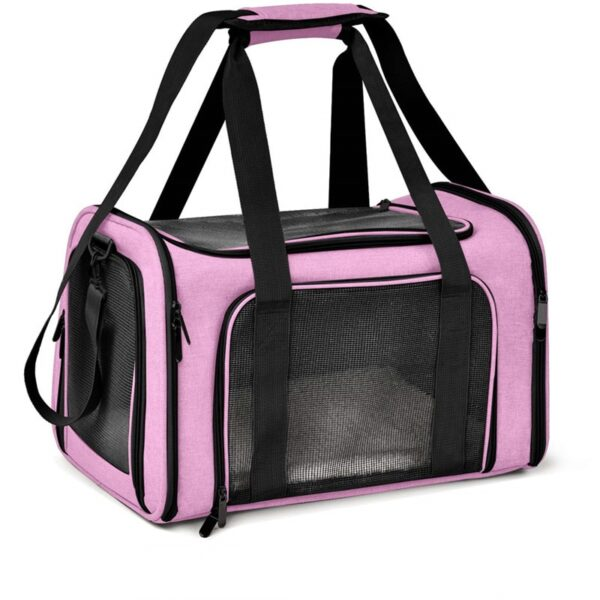 Waterproof Cat Backpack Dog Cat Transport Bag Oxford Fabric Mesh Easy Cleaning Cat Cage Outgoing Pet Carrier Backpack For Cats
