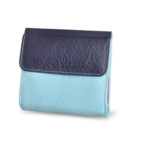 DICIHAYA Mini Wallet Women Genuine Leather Wallets With Coin Bag Alligator Hasp Short Wallet Female Small Wallets And Purses