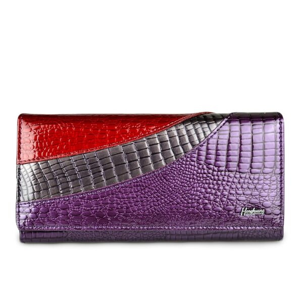 HH Women Wallets Brand Design High Quality Leather Wallet Female Hasp Fashion Alligator Long Women Wallets And Purses