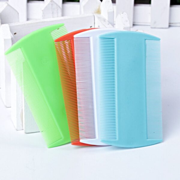 Double Sided Lice Comb Hair Brush Portable Super Fine Teeth Head Flea Hair Combs Lice Remover Brush