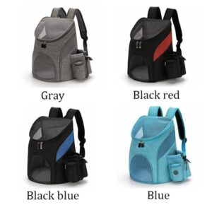 Breathable Big Space Dog Backpack High-quality Nylon Pet Cat Dog Carrier Bag Adjustable Shoulder Strap Pet Travel Backpack