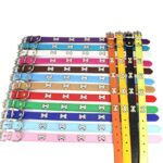 Fashion-Red-Purple-Black-Green-Leather-Dog-Collar-Bone-Shaped-Accessories-Collar-for-Dogs-Small-Pet-Dog-Supplies