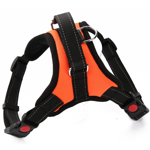 Durable Reflective Pet Dog Harness For Dogs Adjustable Big Dog Harness Pet Walking Harness For Small Medium Large Dogs Pitbull