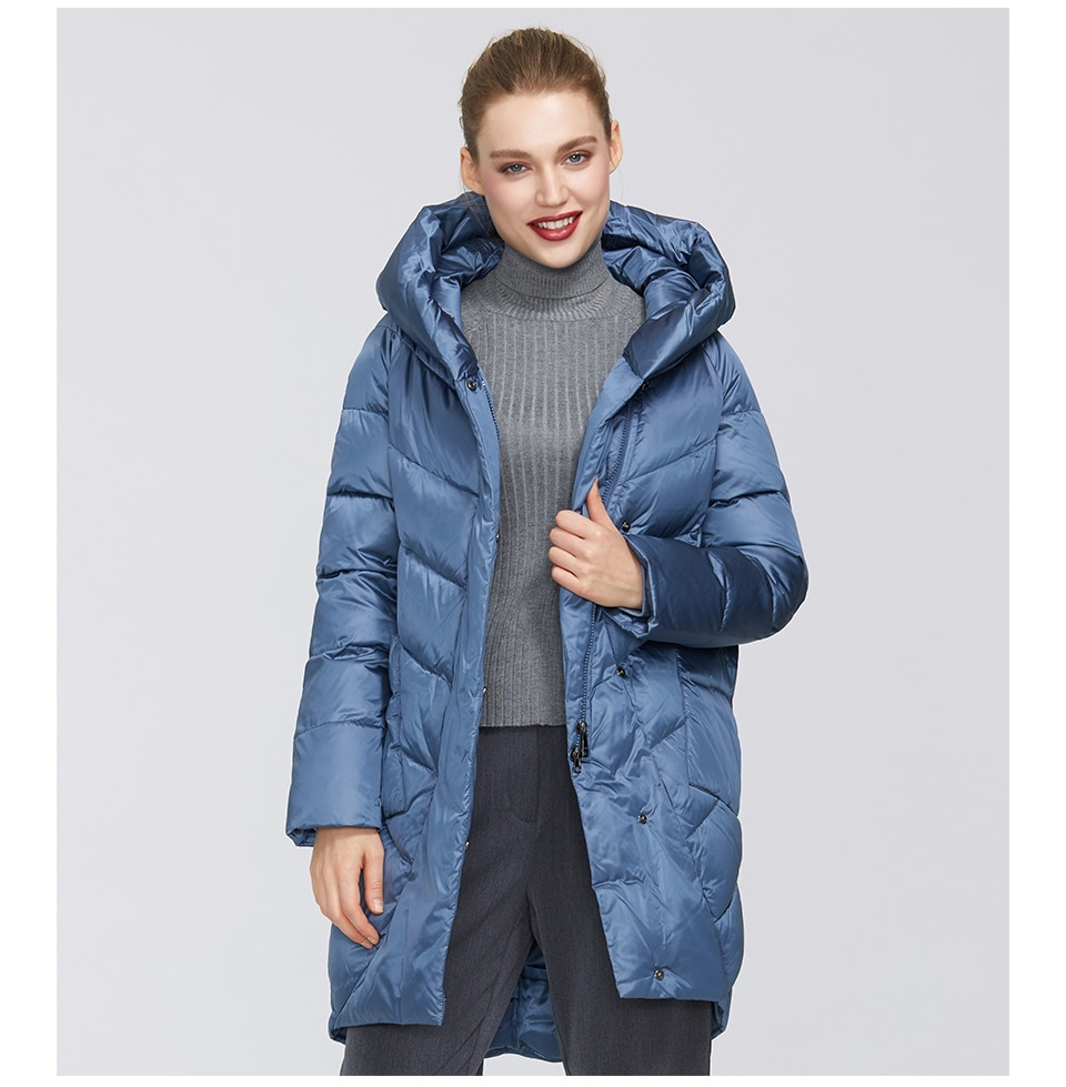 MIEGOFCE 2020 Winter Jacket Women's Collection Warm Jacket With Unusual Design and Colors Winter Coats Gives Charm and Elegance
