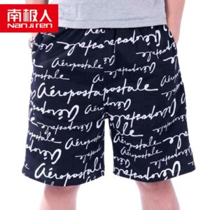 NANJIREN 2020 Summer Men Shorts Brand Breathable Male Casual Board Shorts Comfortable Plus Size Fitness Pants Man Beach Shorts