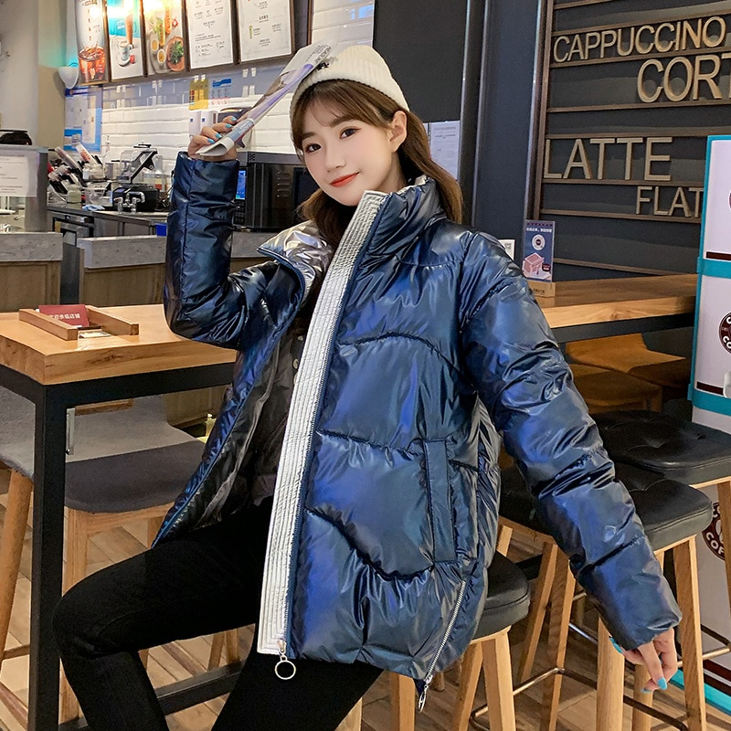 2020 New Korean Style Winter Jacket High Quality Coat Women Fashion Jackets Winter Warm Woman Clothing Casual Parkas Dames