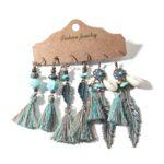 Vintage-Elegant-Natural-Wood-Beads-Drop-Earrings-Set-For-Women-Boho-Round-Hoop-Long-Tassel-Hanging-Earring-2020Wholesale-Jewelry