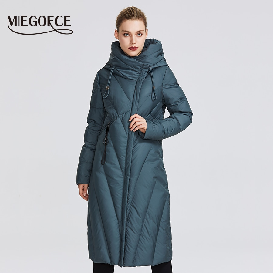 MIEGOFCE 2020 New Collection Women Coat With a Resistant Windproof Collar Women Parka Very Stylish Women's Winter Jacket