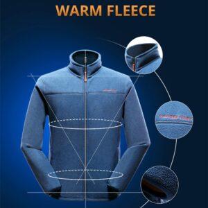 Pioneer Camp warm fleece hoodies men brand-clothing autumn winter zipper sweatshirts male quality men clothing AJK902321