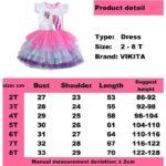 VIKITA-Girls-Unicorn-Tutu-Dress-Kids-Sequined-Princess-Vestido-Girls-Birthday-Party-Dress-Children-Summer-Dresses-Kids-Clothes