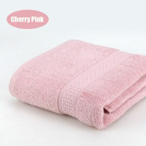 Pure Cotton Super Absorbent Large Towel Bath Towel 70*140 Thick Soft Bathroom Towels Comfortable Beach Towels 15 Colors