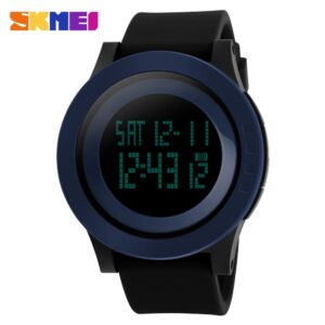 SKMEI Brand Watch Men Military Sports Watches Fashion Silicone Waterproof LED Digital Watch For Men Clock Man Relogio Masculino