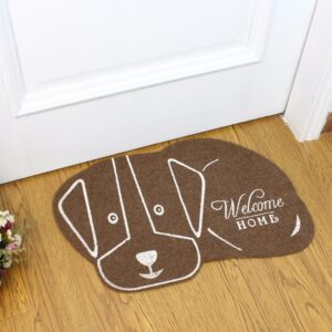 38*58cm Head Right Cat Shape Floor Mat dog Anti-slip Floor Kitchen Carpet Rugs Tatami Toilet Tapete Rug Porch Doormat CC-002