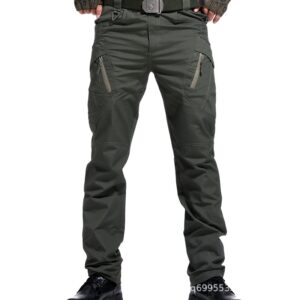 New Military Cargo Pants Men Combat SWAT Many Pockets Casual Trousers Outdoor Waterproof Tactical Pants
