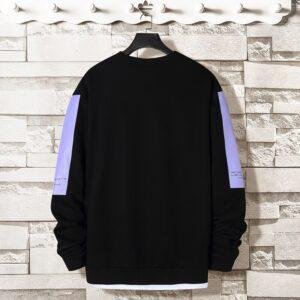 Oversized Crewneck Sweatshirt Men 2020 Spring Solid Hip Hop Japanese Streetwear Pullovers Yellow Hoodie Men Sweatshirts Male