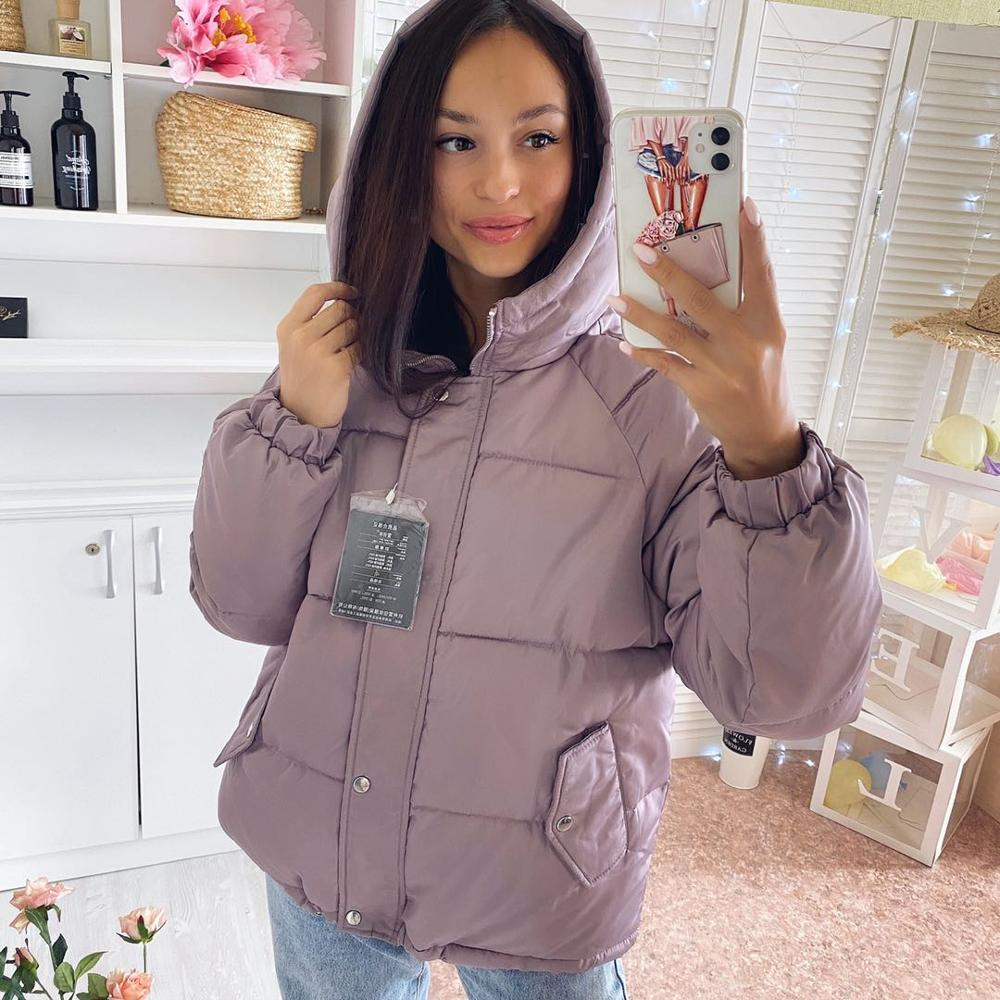 Winter women Parkas coat 2020 casual thicken warm hooded padded jackets Female solid colorful styled outwear snow jacket