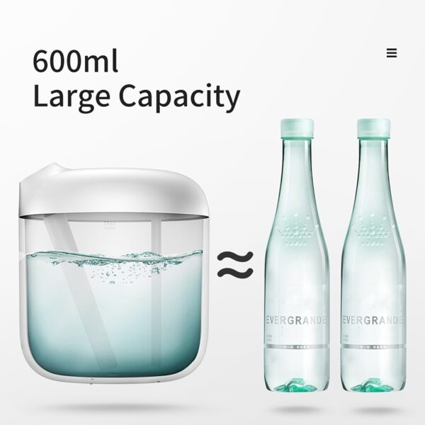 Baseus Humidifier Air Humidifier Purifying For Home Office 600ml Large Capacity Air Humidifier Humidificador With LED Lamp