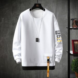 2020 Solid Color Sweatshirt Men Harajuku Hoodies Autumn Spring Hoody Casual Hoodie Cotton Sweatshirts Men Streetwear Clothes